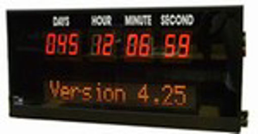 Picture of Combination Downtimer with LED Message Sign