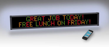 Picture for category Indoor Message Signs